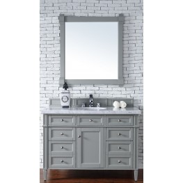 "Brittany 48"" Urban Gray Single 4CM Top Vanity Set"