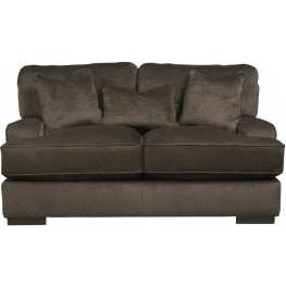 Bisenti Chocolate Loveseat