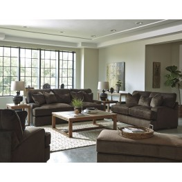 Bisenti Chocolate Living Room Set