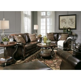 Vanceton Brown Living Room Set