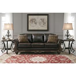 Vanceton Brown Sofa