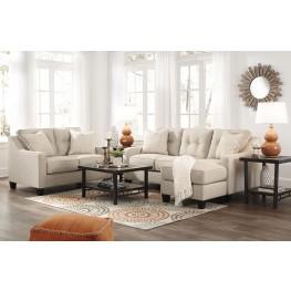 Aldie Nuvella Sand Living Room Set