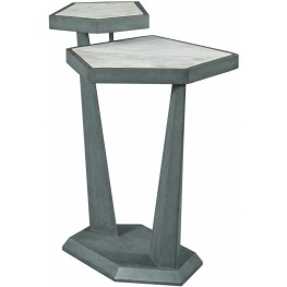 AD Modern Synergy White Plane Accent Table