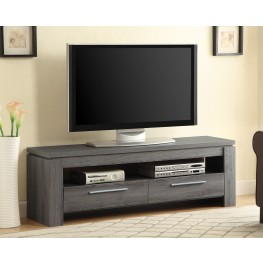 701979 Weathered Grey Storage TVConsole
