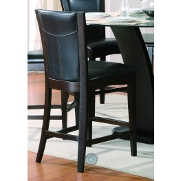 Daisy Black Counter Height Chair Set of 2
