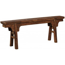 Peasant Brown Bench