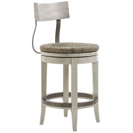 Oyster Bay Merrick Swivel Counter Stool
