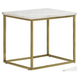 Isabelle Marble Top End Table by Donny Osmond