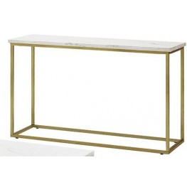 Isabelle Marble Top Sofa Table by Donny Osmond