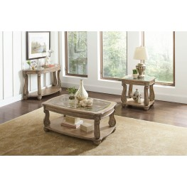 Trivellato Antique Linen  Occasional Table Set