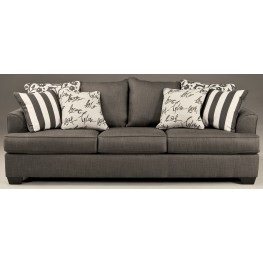 Levon Charcoal Stationary Sofa