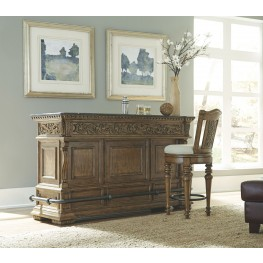 Stratton Medium Wood Bar Set