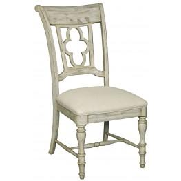 Weatherford Cornsilk Vintage Pine Side Chair Set of 2