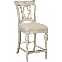 Weatherford Cornsilk Kendal Counter Height Side Chair Set of 2