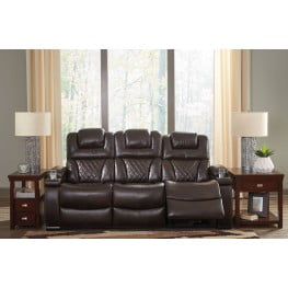 Admirable Warnerton Chocolate Power Reclining Sofa Caraccident5 Cool Chair Designs And Ideas Caraccident5Info