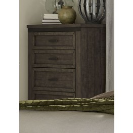 Thornwood Hills Rock Beaten Gray 5 Drawer Chest