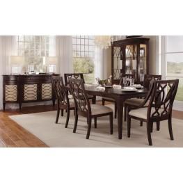Intrigue Rectangular Extendable Dining Room Set