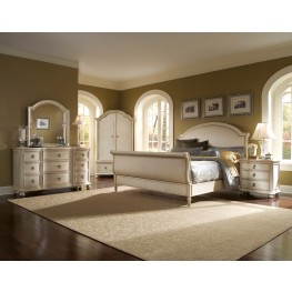 Provenance Upholstered Sleigh Bedroom Set