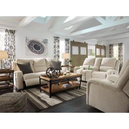 Krismen Sand Power Reclining Living Room Set