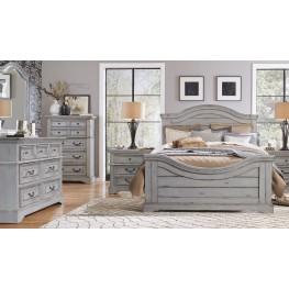 Stonebrook Antique Gray Panel Bedroom Set