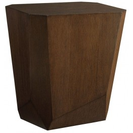 Zavala Tangent Facted Accent Table