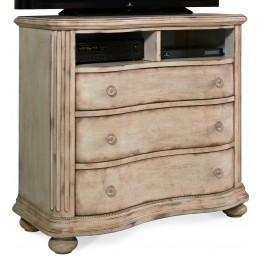 Belmar Antique Linen Media Chest