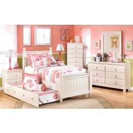 Cottage Retreat Youth Poster Trundle Bedroom Set