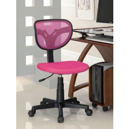 Pink Mesh Office Chair 800055P