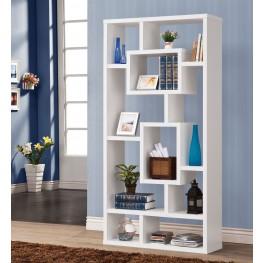 800157 White Bookshelf