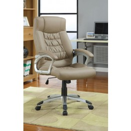 Beige Office Chair 800205