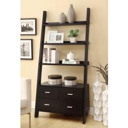 800319 Cappuccino Bookcase
