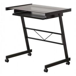 800816 Black Mobile Computer Desk