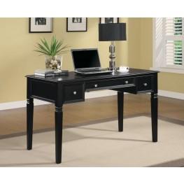 Rich Black Desk 800913