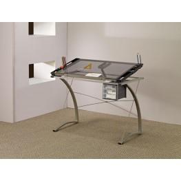 Chrome Desk 800986