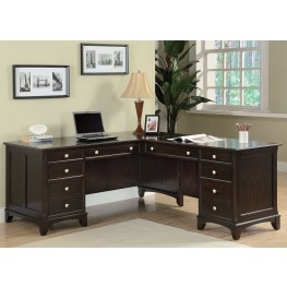 Garson Cappuccino Office Desk