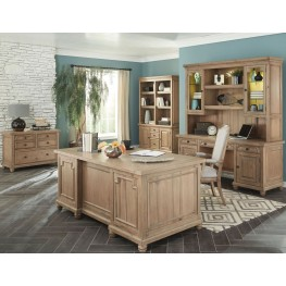 Modern Vintage Rustic Smoke Home Office Set by Donny Osmond