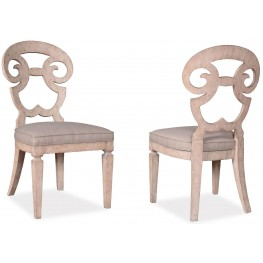 The Foundry Cafe Selway Paint White Side Chair Set of 2