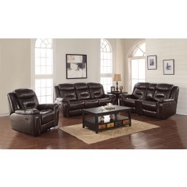 Bradley Expresso Power Reclining Living Room Set