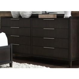 Tivoli Brown 8 Drawer Dresser