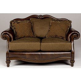 Claremore Antique Loveseat