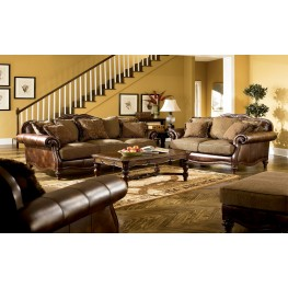 Claremore Antique Living Room Set