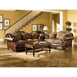 Claremore Antique Sofa & Chair Living Room Set