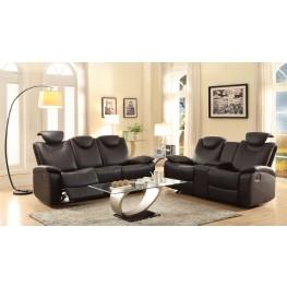 Talbot Black Double Reclining Living Room Set