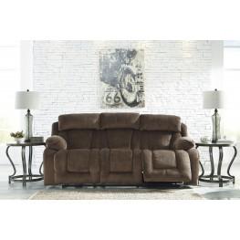 Stricklin Brown Reclining Sofa