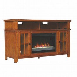 ClassicFlame Oak Dakota TV Stand