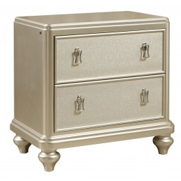 Diva Metallic Nightstand