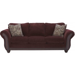 Chesterbrook Burgundy Sofa