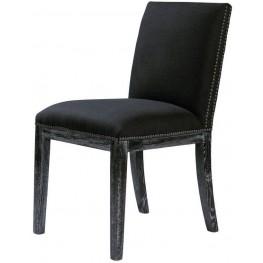 Pavia Vinatge Black Chair Set of 2