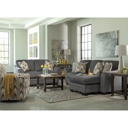 Braxlin Charcoal Living Room Set