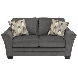 Braxlin Charcoal Loveseat